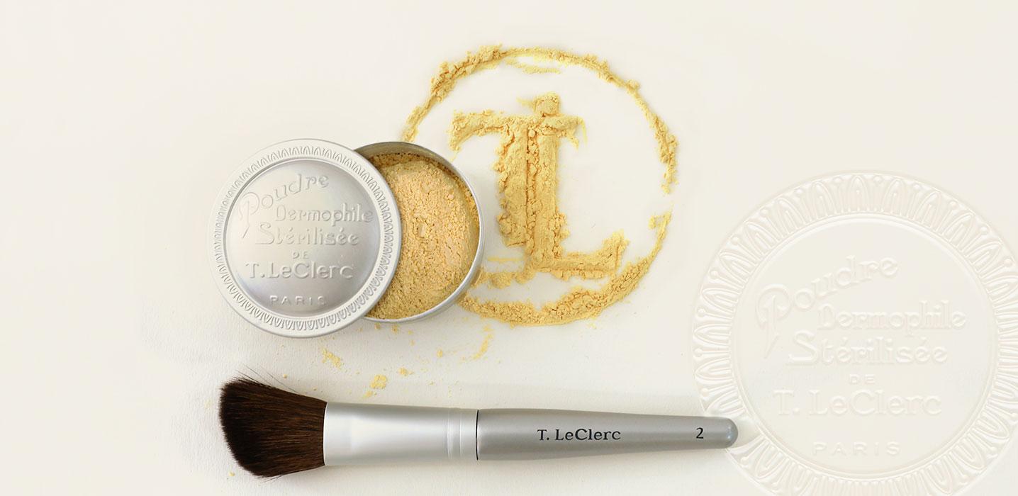 T.LeClerc, L'Iconique poudre Dermophile